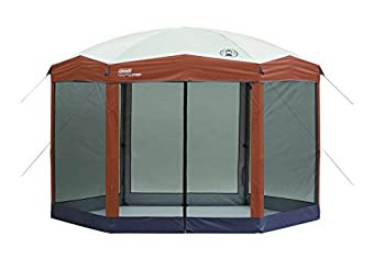 Coleman Screened Canopy Tent with Instant Setup   Outdoor Canopy and Sun Shade with 1 Minute Set Up