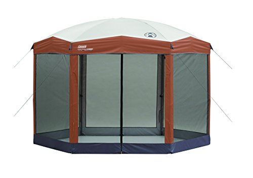 Coleman Screened Canopy Tent with Instant Setup | Outdoor Canopy and Sun Shade with 1 Minute Set Up