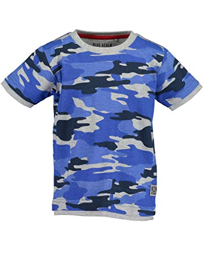 Blue Seven Jungen T-Shirt Camouflage blau (104)