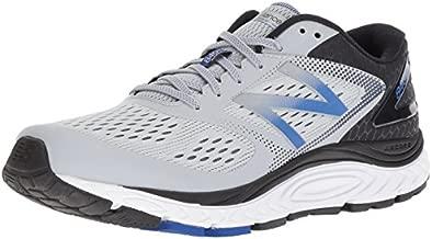 New Balance Men's 840 V4 Running Shoe, Silver Mink/Team Blue, 10.5 W US