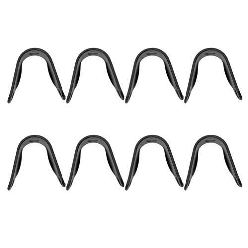 BESPORTBLE 10 pinzas para la nariz antivaho para protección bucal y gafas, protección contra niebla, plástico