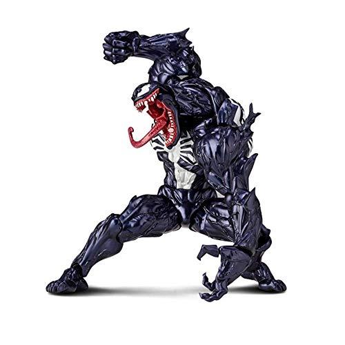 WXFQY Giocattolo per Bambini Venom Venom Action Figure Toy, Marvel Venom Immagine, Multicolore