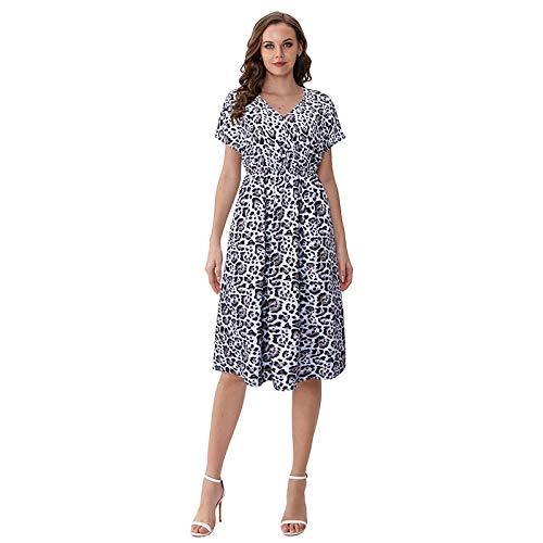 Vestidos para Niñas Vestido De Leopardo para Mujer Fiesta D
