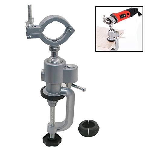 Ggaggaa 360 /° Universalschraubstock Bohrmaschine Schraubstock Halterung f/ür elektrische Schleifmaschine Halterung f/ür elektrische Bohrmaschine