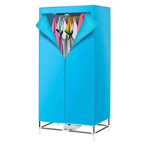 N/T Home - Tendedero eléctrico de gran capacidad, portátil, ahorro de energía y calor con cremallera y cortina de tela resistente al polvo para todos los tejidos