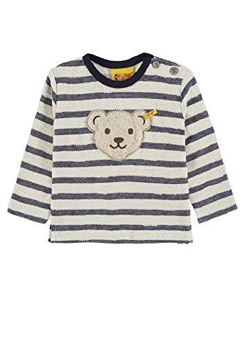 Steiff Sweatshirt Marine-weiß mit Quietscher Gr.68 Sweater Pullover Pulli Kinderkleidung Jungen Jungenbekleidung Jungenpullover