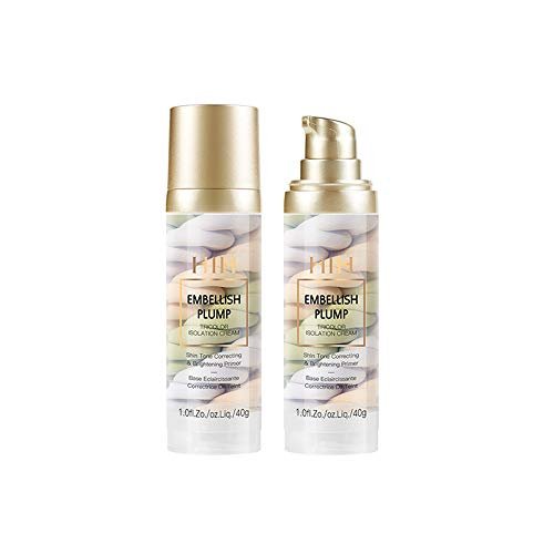 MLZYKYJZ Tricolor Liquid Foundation Cream, No Pore & Long Lasting & Moisturizing & Repair Face Primers Concealer Foundation, for ALL Skin Makeup