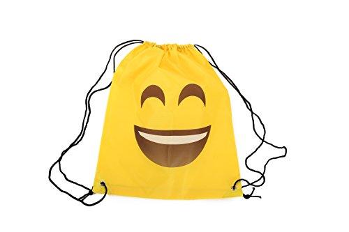 41unjsjvn4L - Mochila Petate Emoticonos - Mochilas, petates Infantiles, Infantil para niños y niñas. Regalos, Detalles y Recuerdos Invitados de Bodas, Comuniones, Fiestas de Cumpleaños