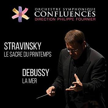 Stravinsky: Le sacre du printemps / Debussy: La mer