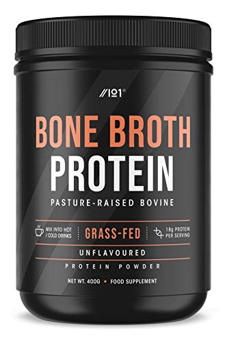 Grass Fed Bone Broth Protein Powder - Unflavoured - 100% Pasture Raised...