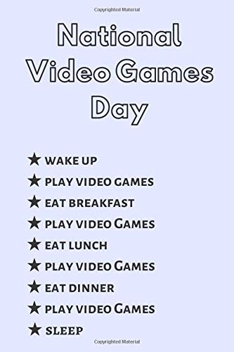 National Video Games Day: My Perfect Day Video Games