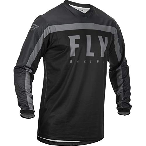 Fly Racing MX-Jersey-F-16 Black/Grey