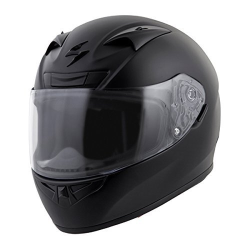 Scorpion EXO-R710 Solid Street Motorcycle Helmet (Silver, Medium) by Scorpion