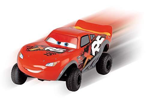 Dickie Toys 203084022 Lightning McQueen XRS, Cars, ferngesteuertes Auto, RC Fahrzeug, 1:24, 18 cm, rot