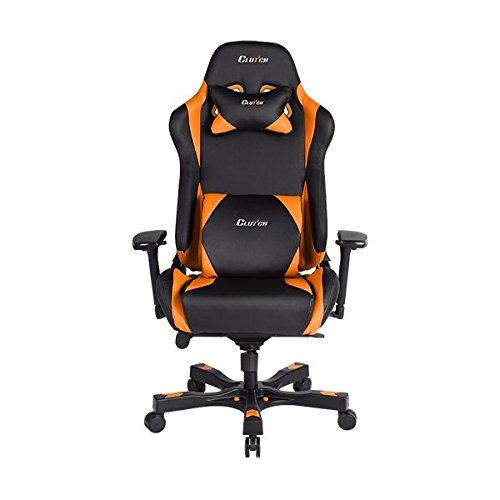 CLUTCH CHAIRZ Throttle Series Alpha Premium Gaming Chair (Orange)