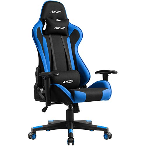 Muzii PC Gaming Chair for Pro,4-Color Choice Breathable SOFTKNIT...