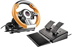ERGONOMIC CONSTRUCTION - Features an ultra-robust construction for that ultimate, action-packed gaming experience. FAST GEAR SHIFTING - The professional gear stick and shift paddles allow you to switch gears as quickly as possible. VIBRATION EFFECTS ...