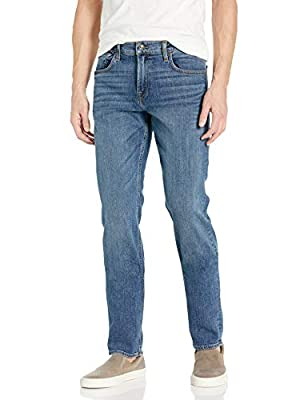 7 For All Mankind Men's Slimmy Slim Fit Jeans, Prophecy, 38 by 7 For All Mankind