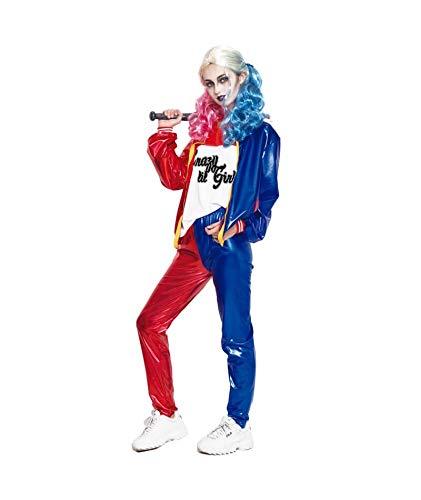 Partilandia Disfraz Joker's Baby Mujer Adulto para Carnaval S