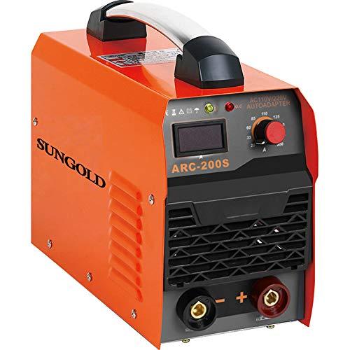 SUNGOLDPOWER ARC MMA 200A Welder Dual 110V 220V IGBT Hot Start Welding...