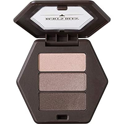 Burt's Bees 100% Natural Origin Eye Shadow Palette Trio Shimmering Nudes - 0.12 Ounce