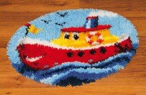Vervaco gevormde tapijt knopen met knoophaken