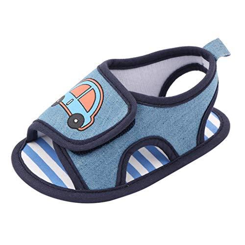 YWLINK Zapatos De Bebé, Zapatos De NiñOs, Zapatos De Princesa, Zapatos De NiñO, Sandalias, Zapatos De Gateo, Velcro, Moda, Ocio, para NiñOs PequeñOs, BebéS, NiñAs, NiñOs