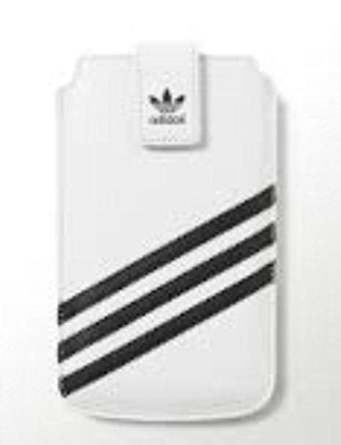 Adidas Originals 15689 bolsa de cuero de imitación Funda Universal Talla M Blanco/Negro