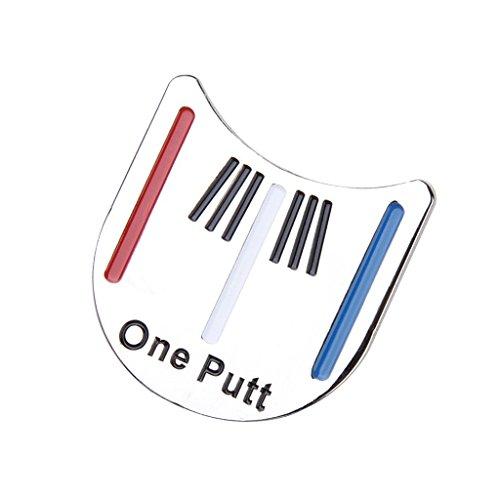 Xiton Applikation 3,2x 3,1Hat Clip Golf Putting Alignment Tool Ball Marker Werkzeug Zubehör