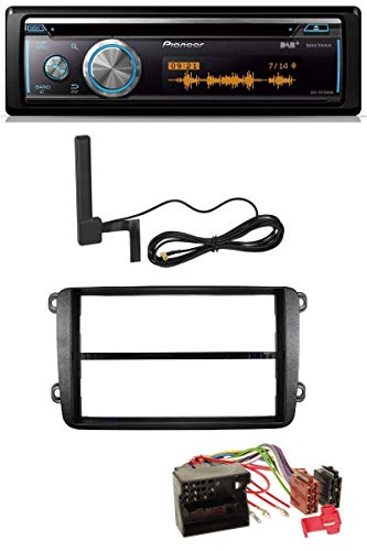 caraudio24 Pioneer DEH-X8700DAB Bluetooth DAB MP3 USB CD Autoradio für VW Golf V VI Touran Passat 3C Caddy EOS Skoda Octavia