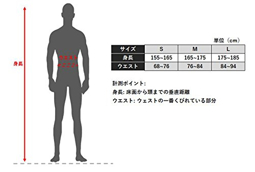 [シーダブリューエックス]スポーツタイツジェネレーターモデルレボリューションタイプ(ロング丈)吸汗速乾UVカットメンズHZO659ブラック日本M(日本サイズM相当)