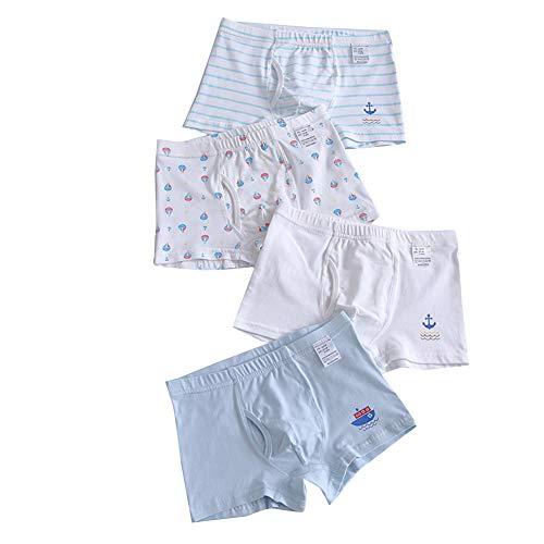 4er Pack Kinder Jungen Boxershorts Unterhosen Unterwäsche Slips