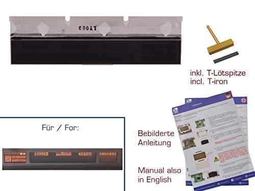 gearworks Display für 5er/E39 Kombiinstrument LCD mit Kontaktfolie Reparatur