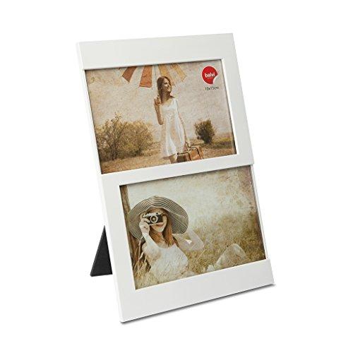 Balvi Marco Dijon Color Blanco Capacidad: 2 Fotos de 10x15 cm Marco...