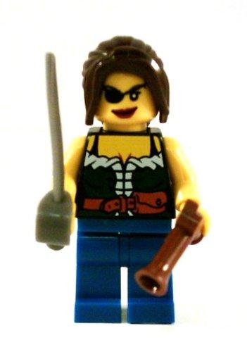 LEGO Piraten–Pirat mit Säbel und Pistole