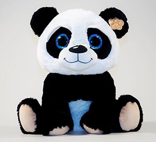 Panda mit großen Glitzeraugen, 60 cm, Plüschtier, Kuscheltier, Plüschpanda