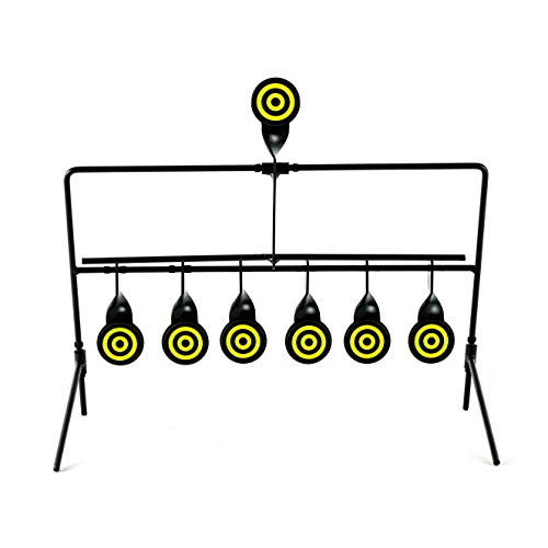 KNINE OUTDOORS 6 Targets Air Gun Pellet BB Gun Resetting Target, Rated for .22 .177 Caliber