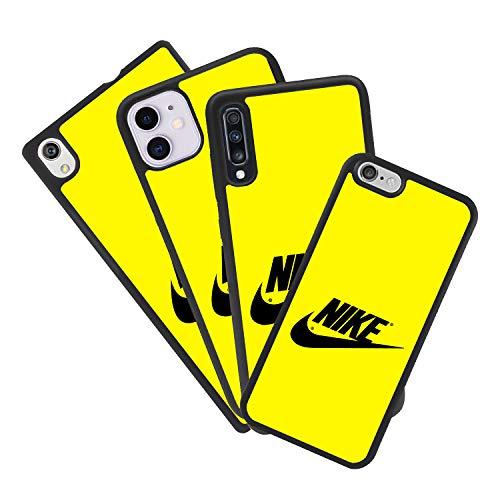 afrostore Funda Carcasa de móvil para Apple iPhone 6 Plus Logotipo Nike Logo TPU Borde Negro