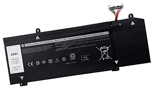 AKKEE 1F22N Laptop Batería para DELL Alienware 2018 M15 P79F M17 R1...