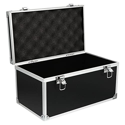 Caja de herramientas Caja de herramientas multifunción Estuche de transporte de aluminio con mango de almacenamiento Cofre para equipos Hardware Electrician Repair Toolbox Caja de herramientas de plás