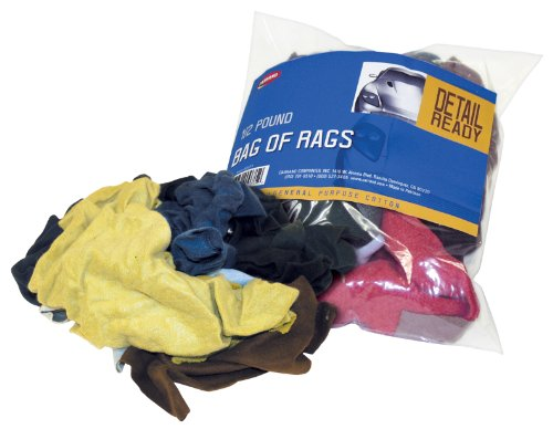 Bag of Cleaning Rags, 1/2 Pound Bag - Carrand 40071