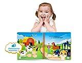 blaBOOK Libro Interactivo Infantil para Niños de 2 a 5 años con Sonido, Los Animales de la Granja | NO Contiene Lápiz Lector