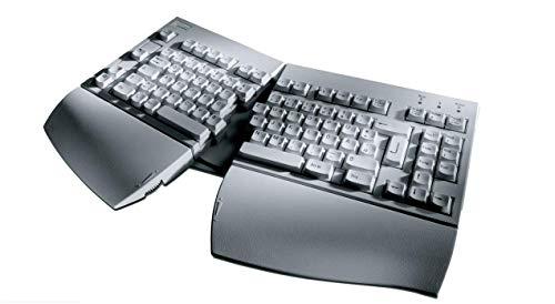 Fujitsu KBPC E 89 Tasten USB-Tastatur ergonomisch, US Layout