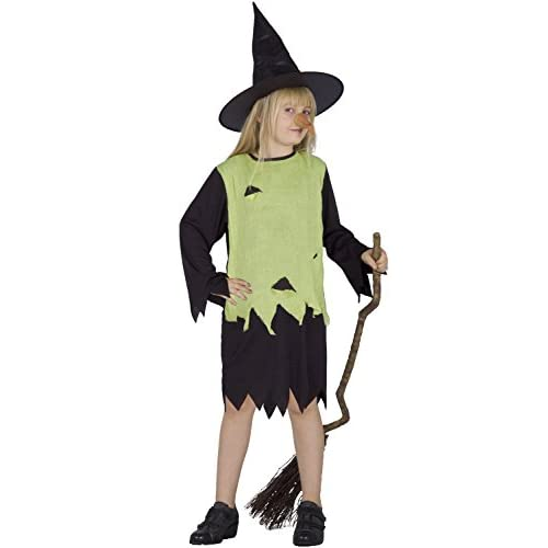 Ciao - Young Witch Costume Halloween, 7-10 Anni
