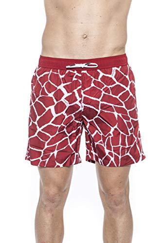 Roberto Cavalli HSH07C - Disfraz de parte inferior para hombre, rojo y S