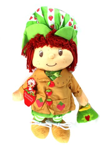 AMERICAN GREETINGS Scented Strawberry Shortcake Plush Doll Stuffed Toy