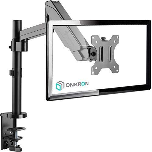ONKRON G70 Support de Bureau pour écran PC de 13 à 32 Pouces Noir