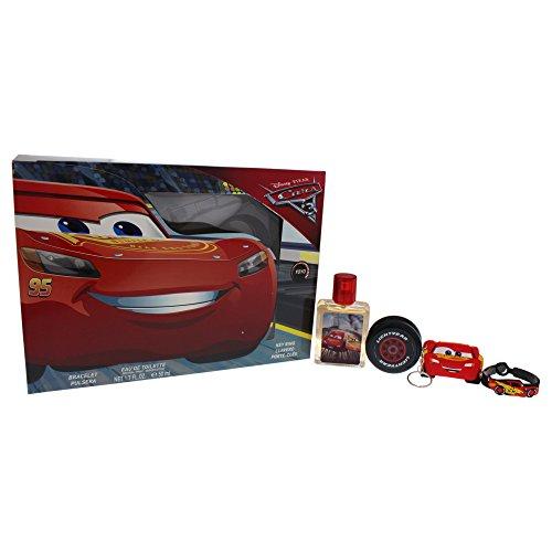 CARS Coffret Eau de Toilette 50 ml/Yoyo/Bracelet/Porte-Clés