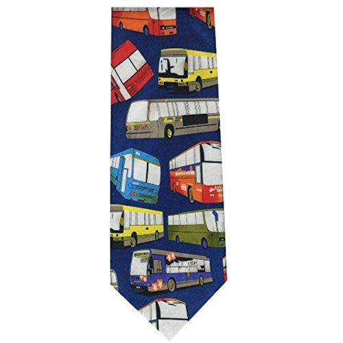 Cravate fantaisie et moderne Bus