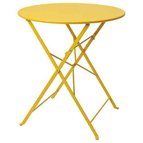 IKEA ASIA SALTHOLMEN Tisch Outdoor klappbar gelb